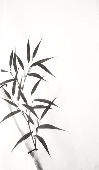Chinese Ink Bamboo