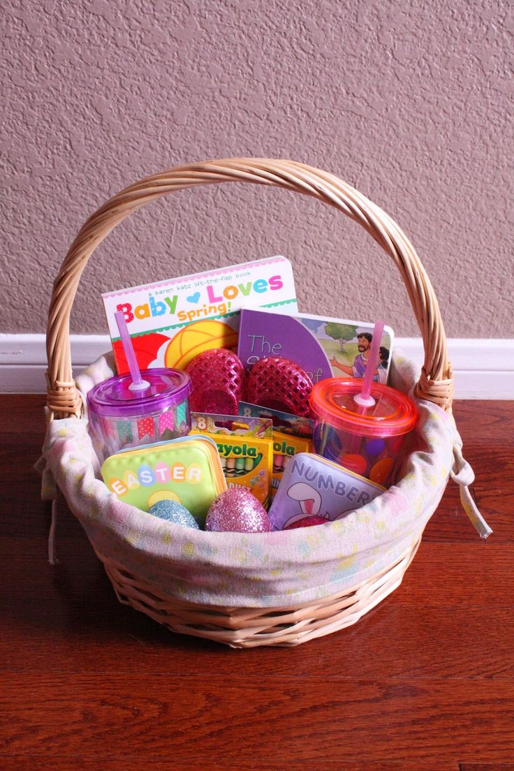 16 best images about easter baskets on pinterest lands end toddler no candy easter basket ideas negle Images