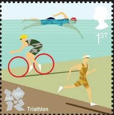 postage stamp for 2012 Olympics
