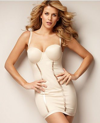 Flexees shapewear firm control slip easy up strapless for Best undergarments for strapless wedding dress