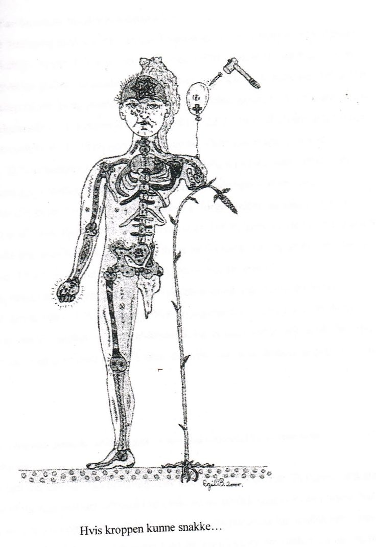 Ilustration for a friend's book about rheumatism ! And this was what I feel my body that day :( :)