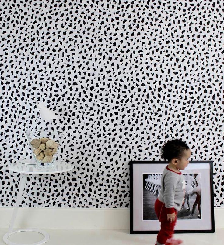 Shop: Our best selling leopard print wallpaper #leopard #print #dalmation #spots #wallpaper