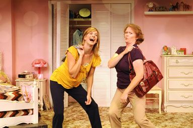 Amie MacKenzie and Allison Watrous in Girls Only