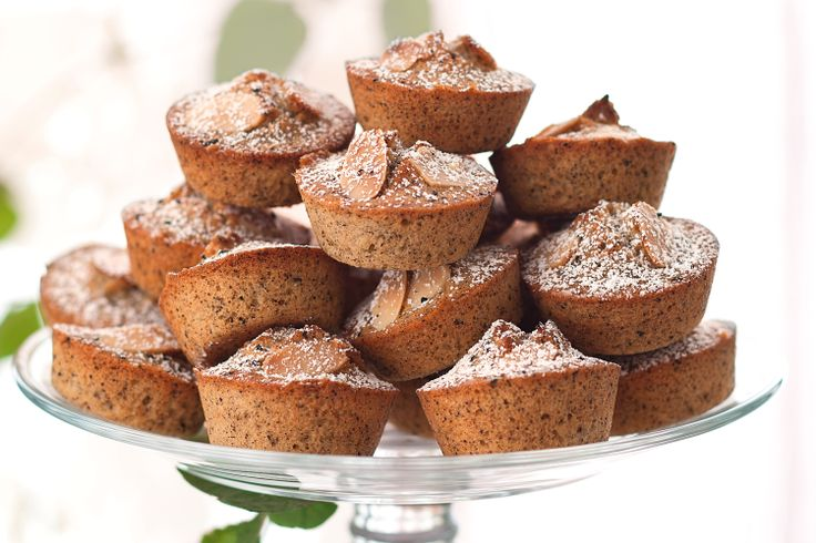 Friands are great alternative to cupcakes and make an excellent addition to high tea.