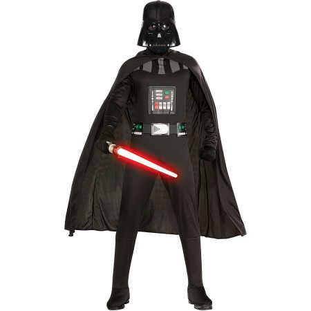 May the force be with you when you dress up with the Star Wars Darth Vader Adult Costume. This costume features a intricate shirt character detailing and also comes with a heroic cape to complete the outfit. Perfect to live out your lightsaber flights! You will be instantly transformed into the Ultimate inter-galactic Villain