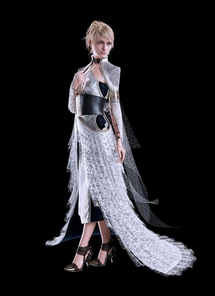 Lunafreya Nox Fleuret from Kingsglaive: Final Fantasy XV