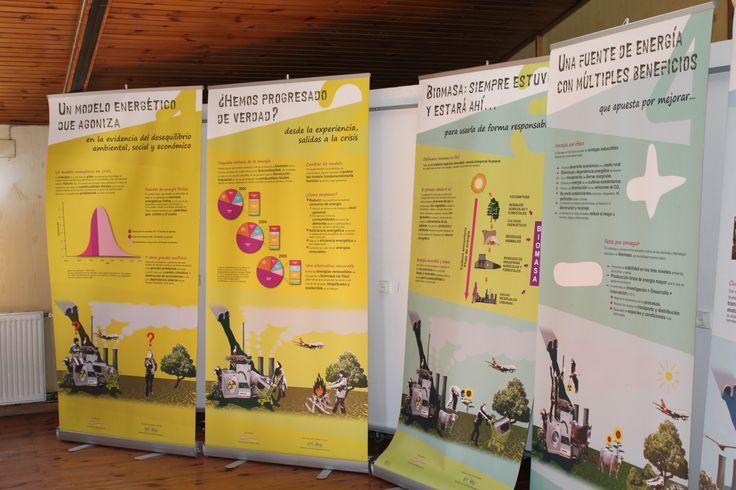 Exposición sobre la utilización de biomasa como fuente de energía. Se puede visitar en las instalaciones del CEPAJ La Pollina del 12 de febrero y el 18 de marzo de 2014. Más información en: http://www.juventudfuenla.com/?p=11151