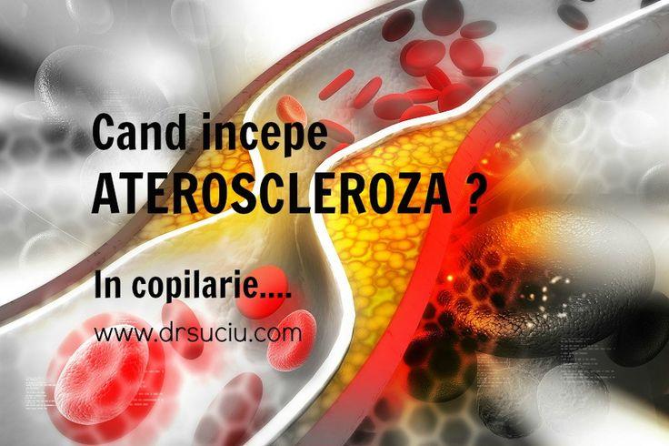 Ateroscleroza incepe in copilarie...