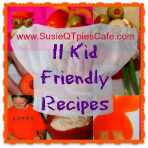 Monday Menu Plan Recipe link party and Kid Friendly Recipes from SusieQTpies Cafe