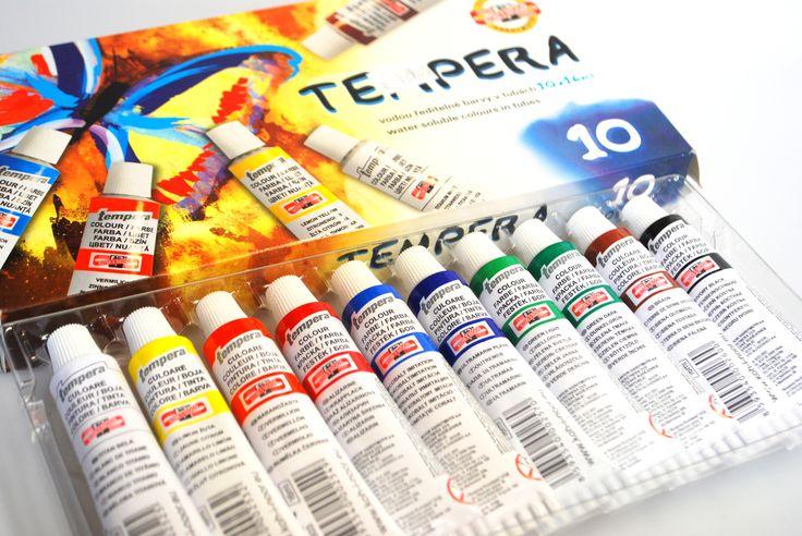 Temperové barvy do každé školní tašky