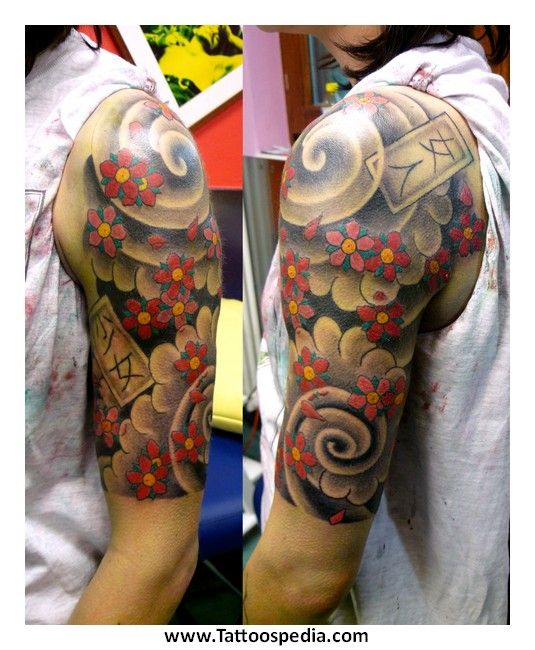1000+ Ideas About Quarter Sleeve Tattoos On Pinterest