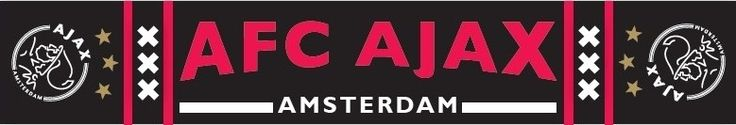 Hang deze grote Amsterdamsche Football Club-vlag voor het raam en iedereen ziet dat jij een echte Ajax-fan bent! De Amsterdamsche Football Club vlag heeft een afmeting van 100 x 150 cm. Geschikt voor kinderen vanaf 4 jaar.   Afmeting: volgt later.. - Sjaal ajax zwart AFC ajax