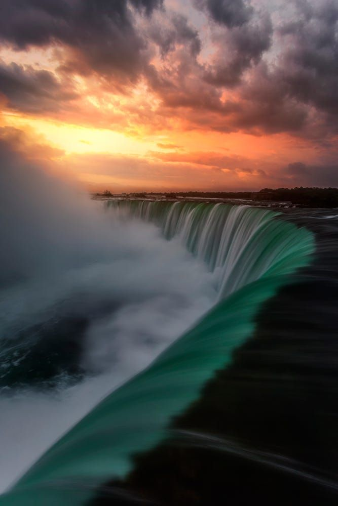 NiagaraSunrise by S. Pierce on 500px