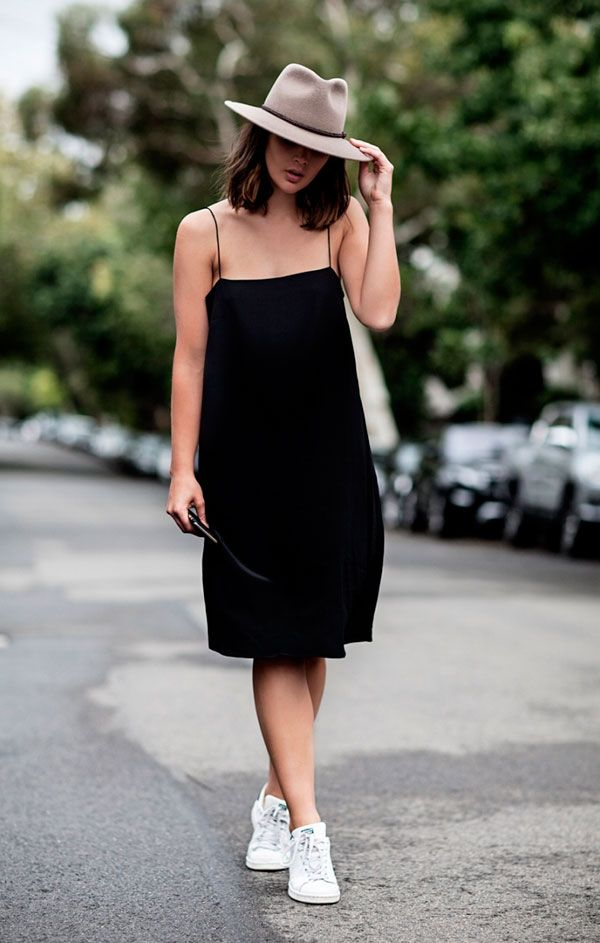 slip dress preto