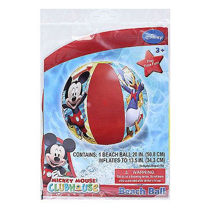 """Lote 12 Disney Mickey Mouse Inflable Playa Bola 20"""" piscina Juguete Favores de partido"""