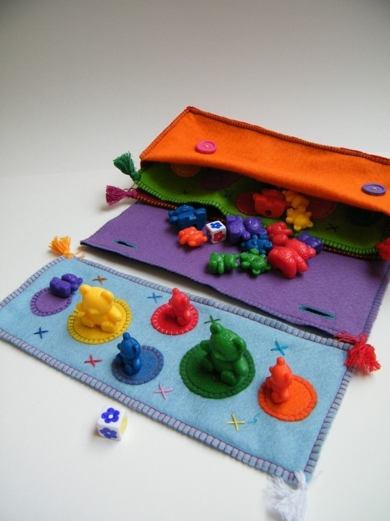 felt learning game to make - I am sooo making this for my kids this weekend!