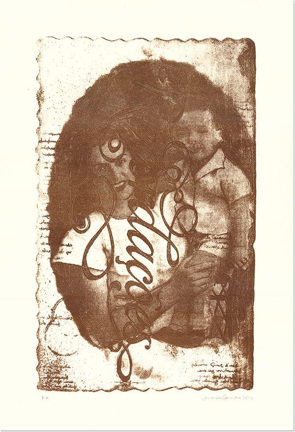 Amanda Coimbra [www.amandacoimbra.com] 'recordações' lithograph 2011