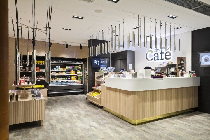 My City Shop & Café at Helsinki Airport by Amerikka, Helsinki   Finland cafe