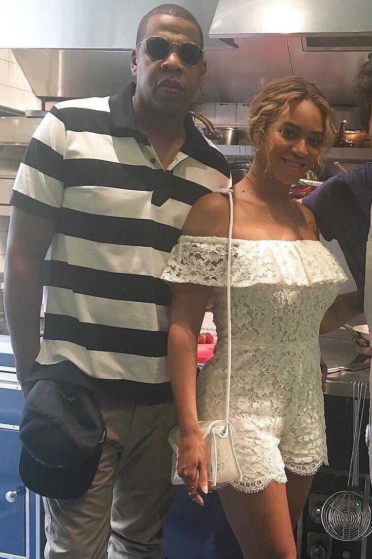 Beyoncè & Jay Z in Paris, France July 2016