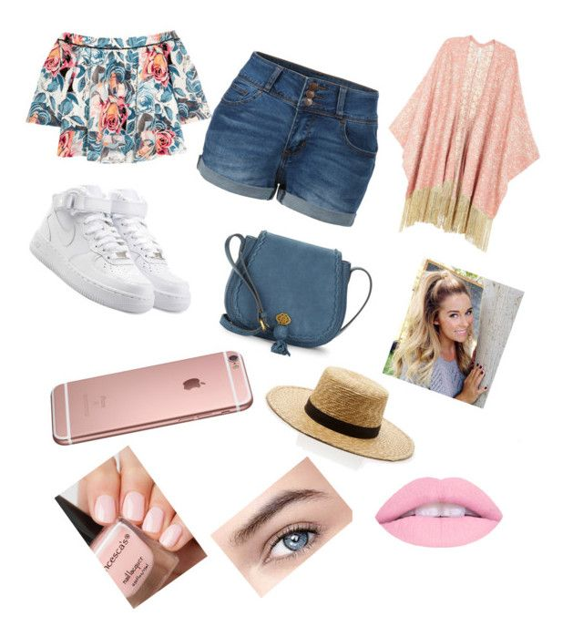 """""""BBQ"""" by jessfry10 on Polyvore featuring Elizabeth and James, Melissa McCarthy Seven7, LE3NO, NIKE, Nanette Lepore, Janessa Leone and plus size clothing"""