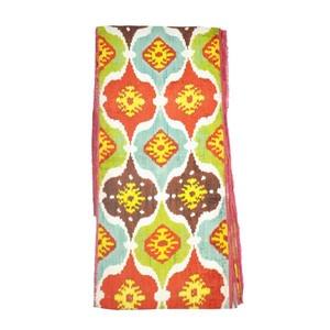 more beautiful fabric | Textile patterns, Ikat fabric ...