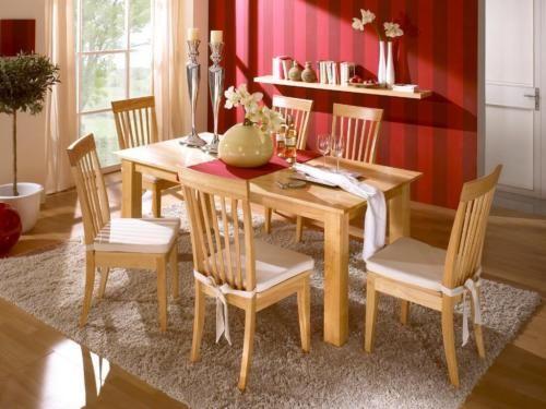 4 Stck Stuhl Esszimmer massiv Rubberwood Hartholz NEU in Nordrhein-Westfalen - Rietberg   Stühle gebraucht kaufen   eBay Kleinanzeigen
