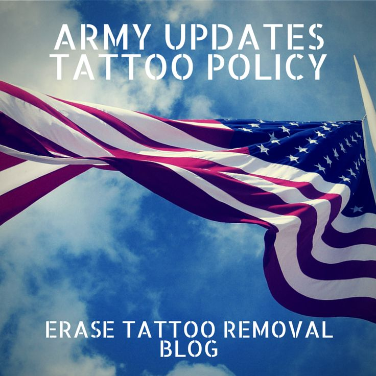 http://oakbrooktattooremoval.blogspot.com/2015/04/new-army-tattoo.html The Army has recently changed their #Tattoo policy. Learn more on our blog.