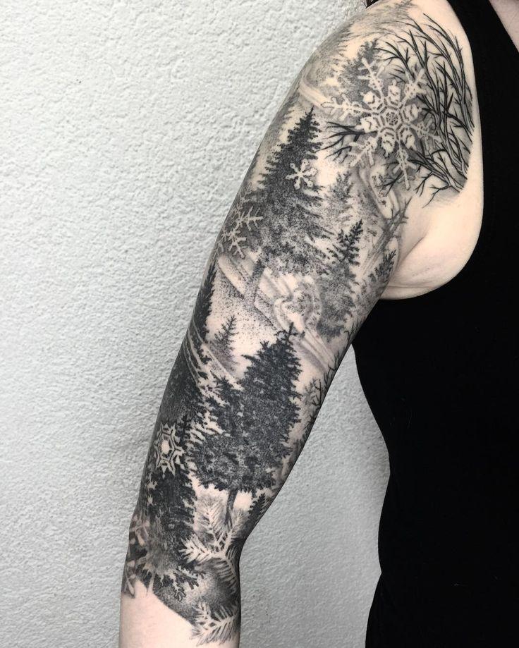 snowflake tattoo49