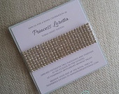 Bling Wedding Invitation modern contemporary by EmbellisheDesigns