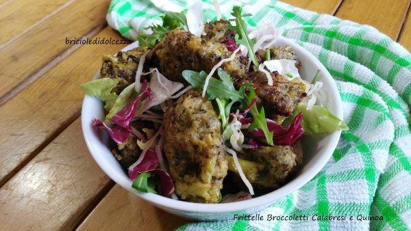 Frittelle+Broccoletti+Calabresi+e+Quinoa