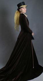 Женское платье для верховой езды