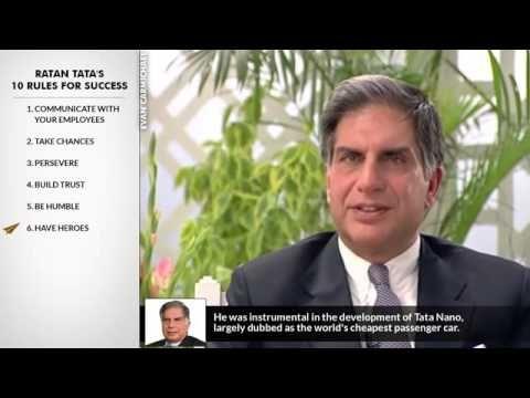 Ratan Tata Documentary   Ratan Tata's Top 10 Rules For Success   YouTube