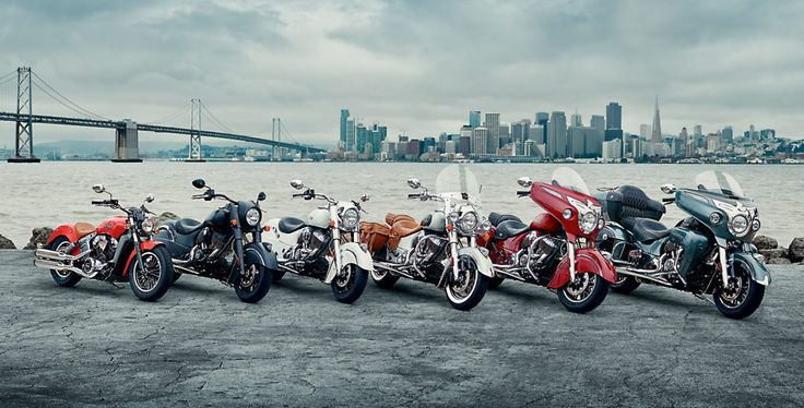 Ahead of the 75th anniversary of the Sturgis Motorcycle Rally kicking off next week, Indian Motorcycle has announced its 2016 model lineup, which includes the Scout and five models on the Chief pla…