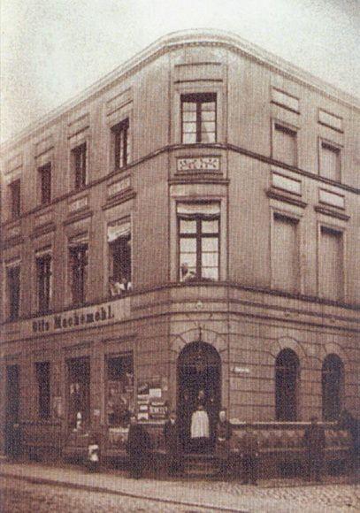 Dom Machemehlów w Sławnie przy ówczesnej ulicy Słupskiej – obecnie M. Skłodowskiej,