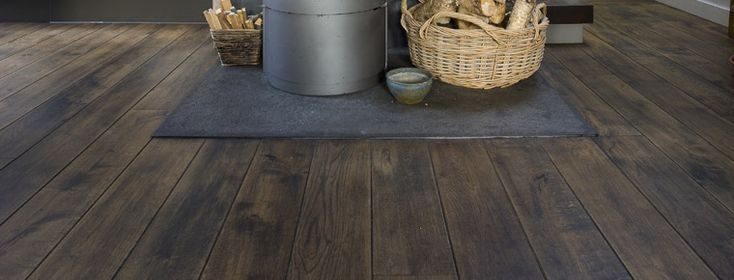 Pelgrim rustic floor by Esco finished with Polyx Oil