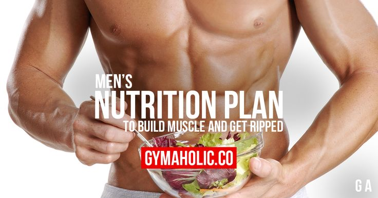 You're a man, you want to build muscle and get ripped but you don't have a nutrition plan. Gymaholic provides you a meal plan that will help you get big.