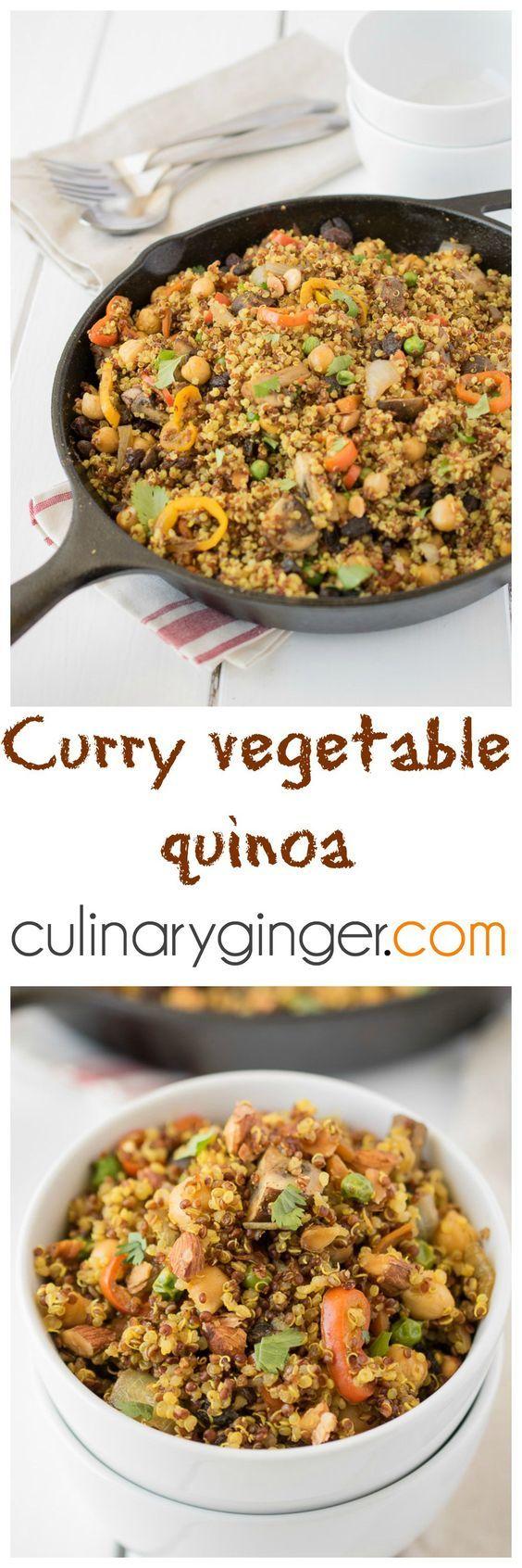 Curry Vegetable Quinoa