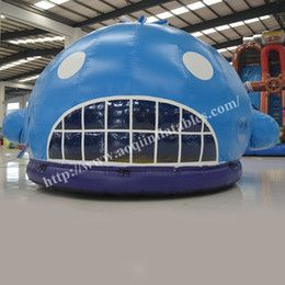 High quality cheap whale moonwalk inflatable bouncer for sale Commercial use inflatable shark bouncer for kids