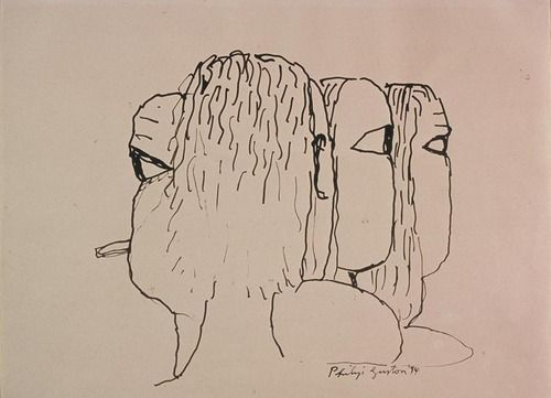 Contour Line Drawing Picasso : Best contour drawings images art