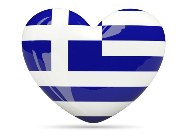 Heart icon. Download flag icon of Greece at PNG format