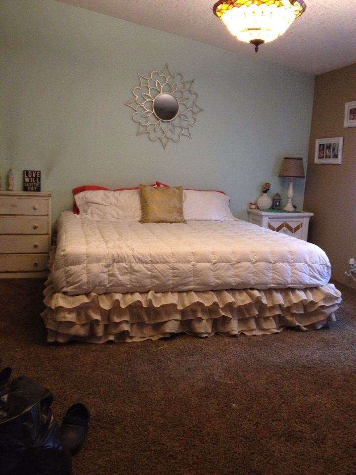 Best 25 Burlap Bedding Ideas On Pinterest Burlap
