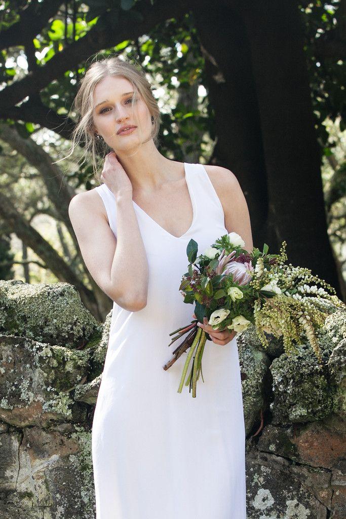 Lithe Long Dress – Staple + Cloth