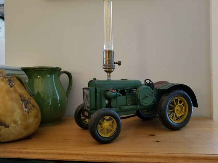 Excited to share the latest addition to my Dad's #etsy shop: Vintage Tractor Lamp http://etsy.me/2n486fN #mancave #johndeere #tractor #edisonlight PLUS most items are 20% off for Cyber Week! Take advantage and get some holiday shopping done! Sale ends Sunday 12/3.