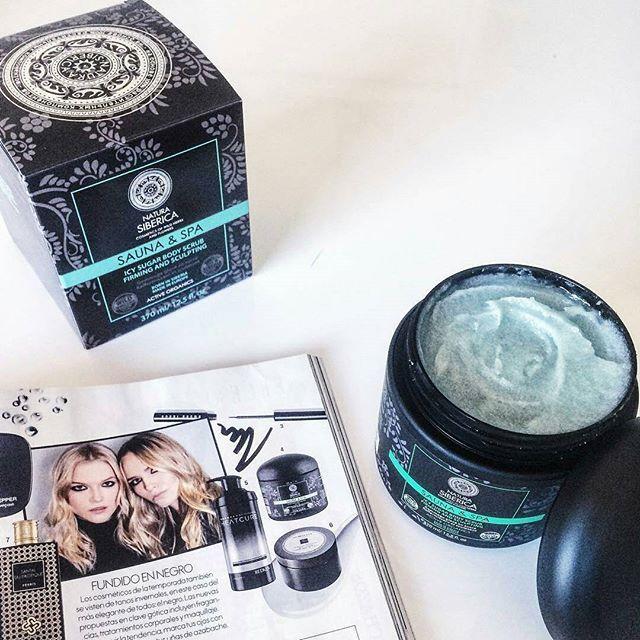 ❤❄La rivista Elle España raccomanda Icy Sugar Body Scrub ❤❄ Lo scrub corpo della linea Sauna & Spa ad effetto tonificante ❤❄ ..chi l'ha già provato? #naturasiberica #lacosmeticabio  #bodycareroutine #bodyscrub #scrubcorpo #tonificante #instabeauty #pelleperfetta #beautyblogger #bblogger #beautyaddicted #beautyblog #rivista #elle #repost @naturasiberica_ru @naturasibericaes