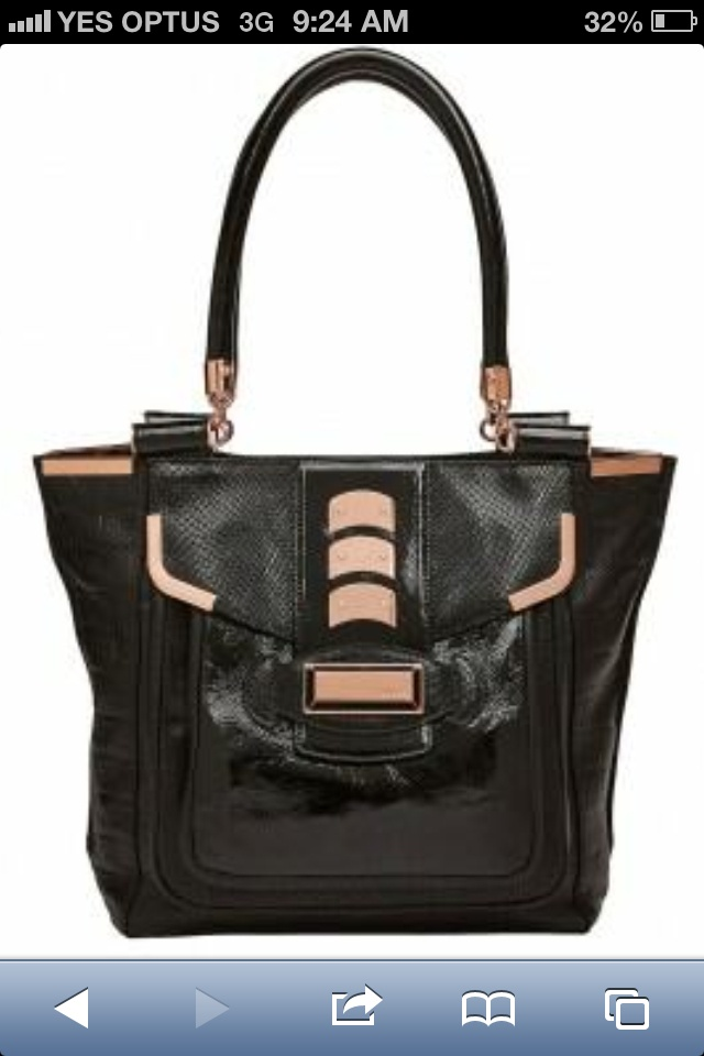 In love with this Mimco tote!!!