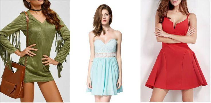 Rosegal: подборка эффектных мини платьев Mini Club Dresses
