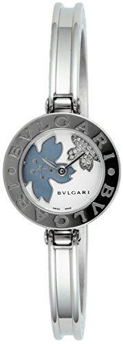 bvlgari bzero1 white pearl dial women watch bz22fdssm