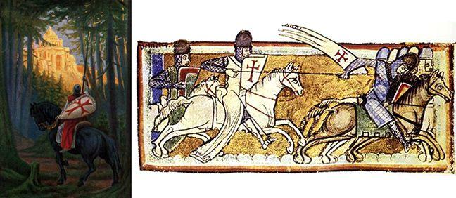 Η ΛΙΣΤΑ ΜΟΥ: Η ιερή συνωμοσιολογία των Ναϊτών Ιπποτών