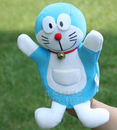 История игрушек 1 шт. 26 см мультфильм Doraemon куклы-марионетки спящего успокоить развивающие игры раннее образование ребенка творческий подарок