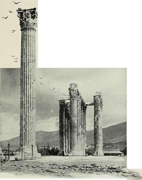 Temple Of Olympian Jove.